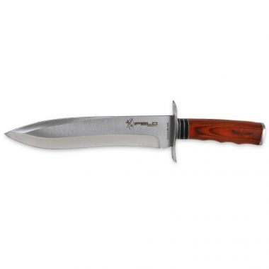 Sport Hunting Knife Camper EL29011 Survival Knife, with Blade Size 9.2 inch, Outdoor Knife with Brown Leather case, Camping Tool for Fishing, Hunting, Sport Activity